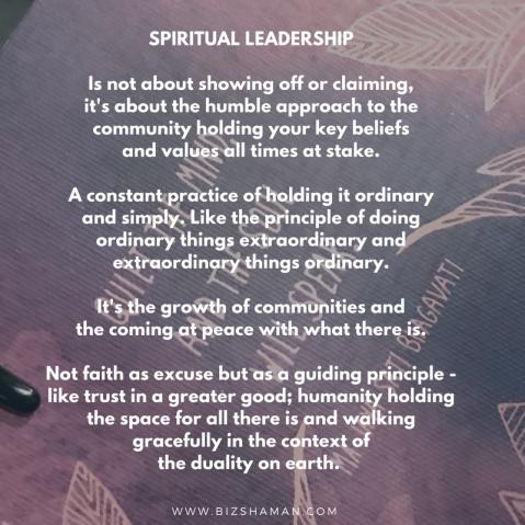 Spiritual Leadership-2